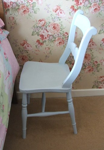 Old Wooden Painted Chair