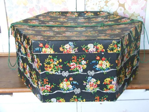 Snelgrove and Marshall Floral Hat Box
