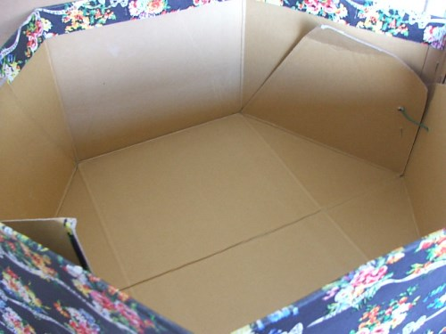Snelgrove & Marshall Floral Hat Box