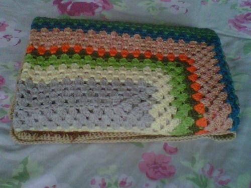 Pretty Granny Squares/Granny Chic Crochet Blanket