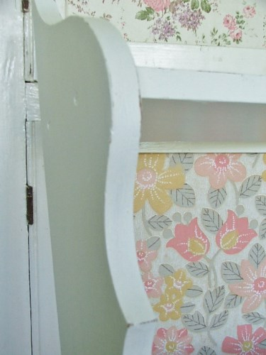 Decorative White Painted Shelves