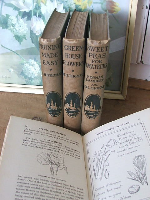 Old gardening books