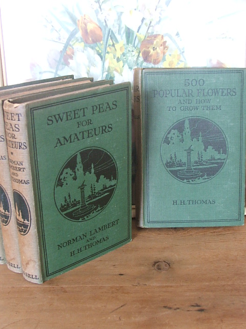 Set of four vintage gardening books
