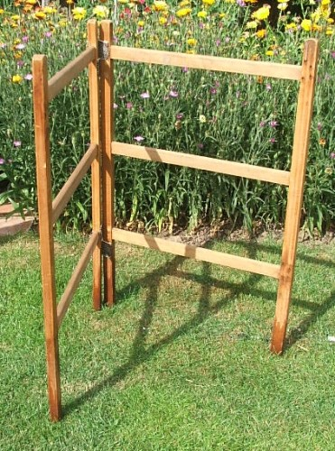 Small vintage wooden airer/clothes horse