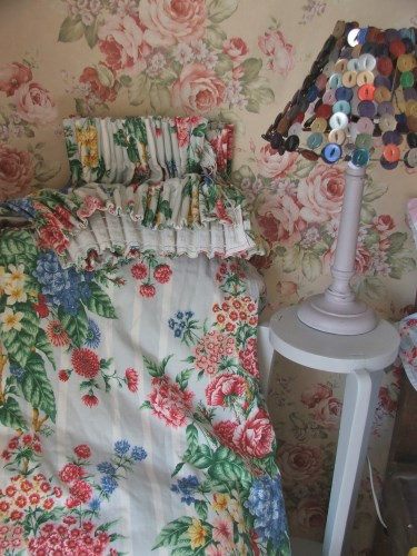 Gorgeous Vintage Floral Curtains