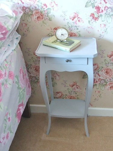 Painted Table with drawer in Paris Grey