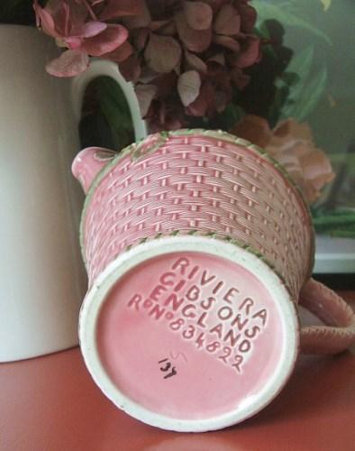 Vintage Pink Jug