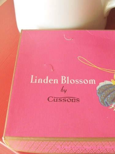 Box set of Cussons Linden Blossom