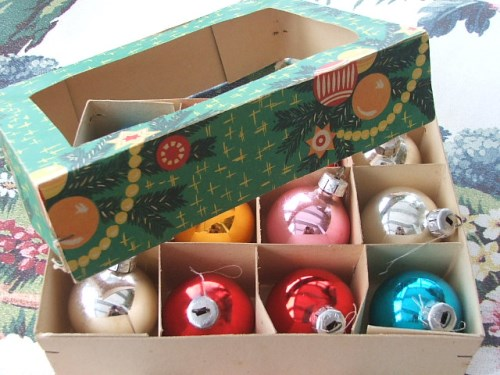 Christmas Baubles Boxed