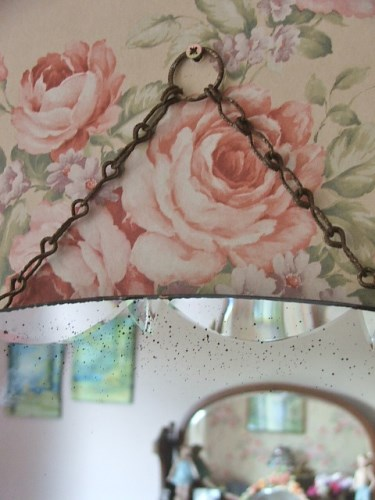 Vintage/Retro Bevelled Mirror