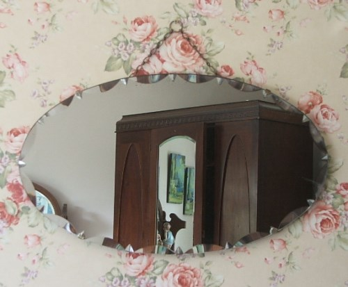 Vintage /Retro Oval Mirror