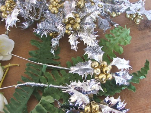 Christmas Floral and Berry Decorations