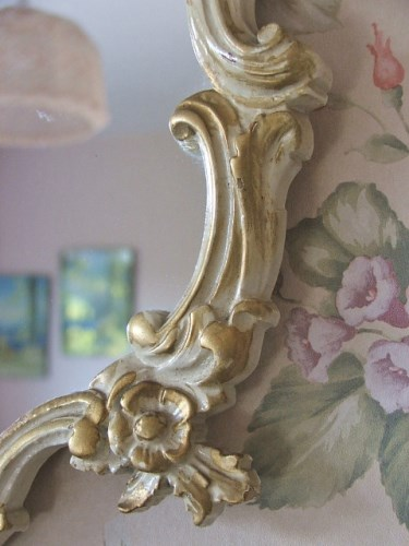 French style ornate mirror