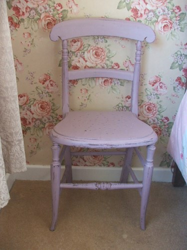 Pink Painted Chair