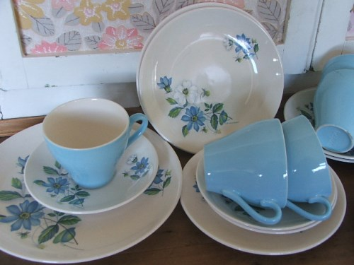 Crown Clarence Teaset