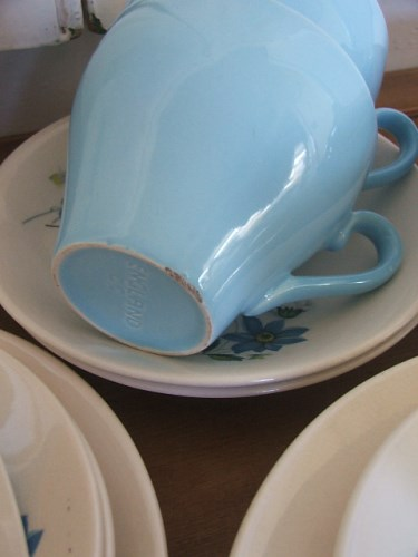 Pretty Floral Crown Clarence Teaset
