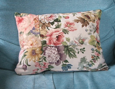Pretty Patchwork Floral Cushion Cover