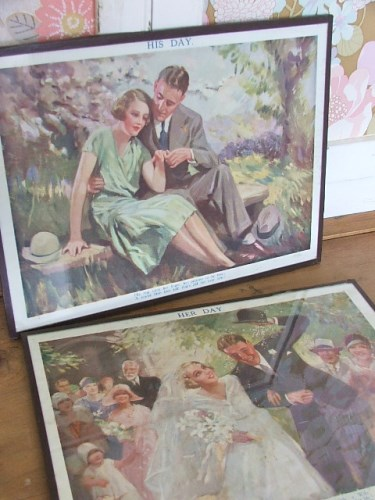 Old Wedding Prints