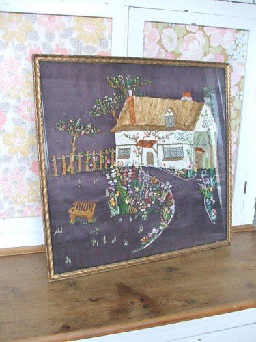 Gorgeous Vintage Embroidery/Needlework