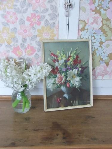 Small Vernon Ward Floral Print
