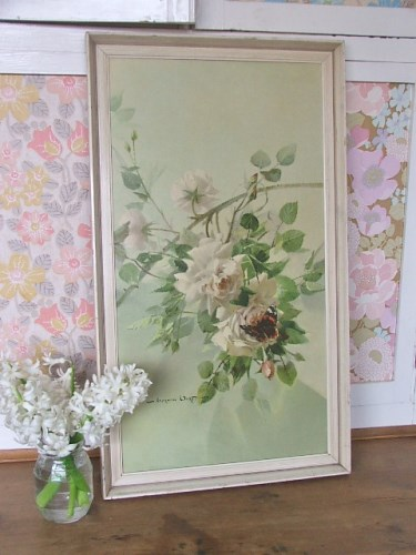 Vernon Ward 'Decor for a Rose' Floral Print