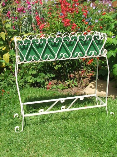 Vintage Wrought iron Garden Planter