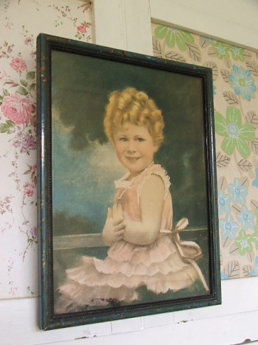 Queen as a Child Print