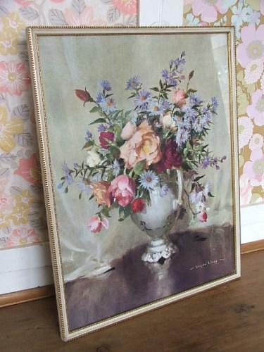 Vernon Ward Floral Print