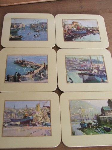 Vernon Ward Cornish Harbour Coasters