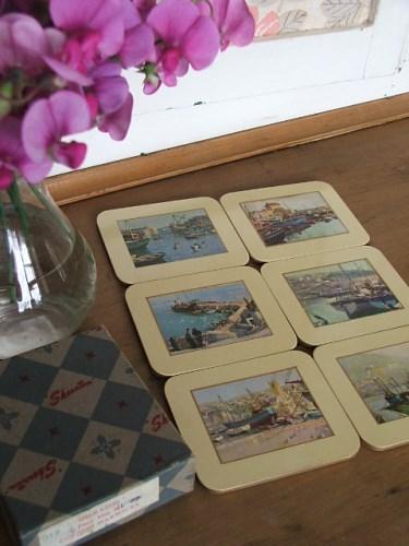 Vintage Vernon Ward Coasters