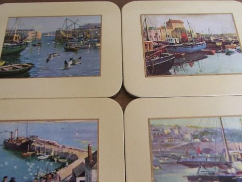 Vintage Boxed Coasters