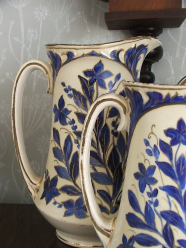 Trio of Decorative Vintage Jugs