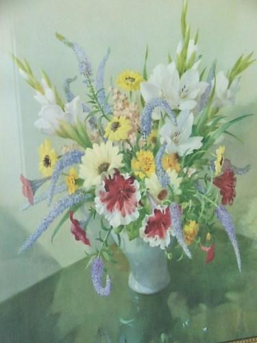 Vintage Vernon Ward Floral Picture