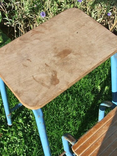 1960's Retro Folding Step Stool
