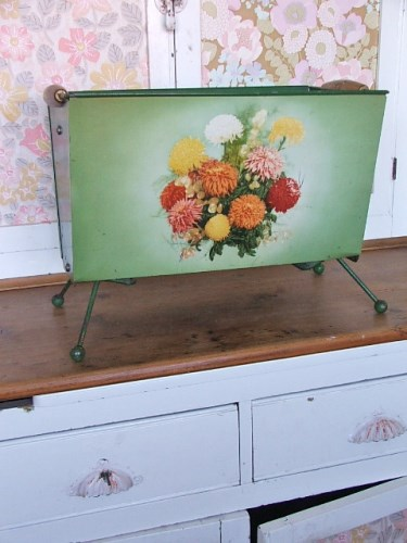 Floral Worcesterware Magazine Rack