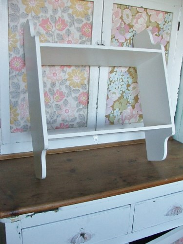 White Painted Wall Shelf