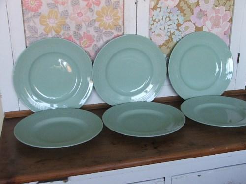 Woods Ware Beryl Dinner Plates