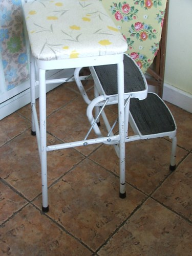 Vintage Retro Step Stool