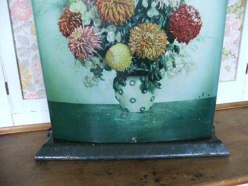 1950's Floral Firescreen
