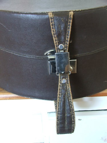 Vintage Brown Hat Case/Box