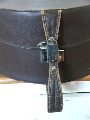 Vintage Brown Hat Case/Box