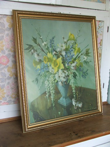 Vernon Ward Floral Print 'Spring Bouquet'