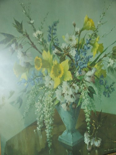 Large Vernon Ward Floral print