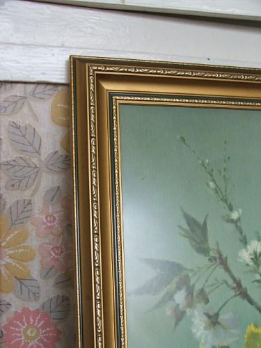Pretty Vintage Vernon Ward Floral print
