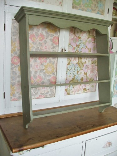 Painted Wooden Shelves