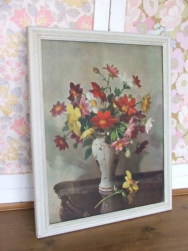 Vintage Floral Print/Picture