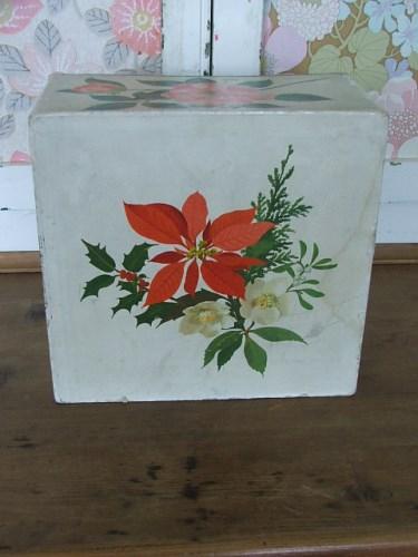 Vintage Floral Card Drawers