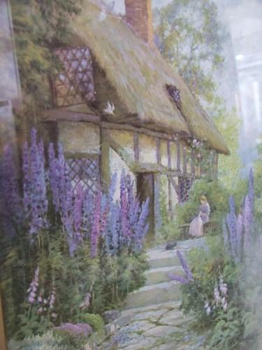 Old Cottage Garden Print