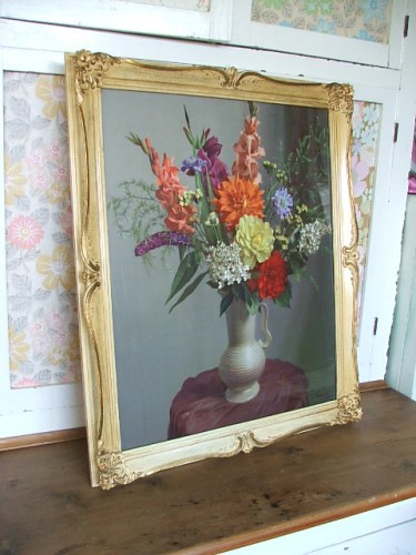 Gorgeous Large Vintage Floral print