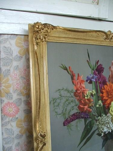Large vintage Erand floral print